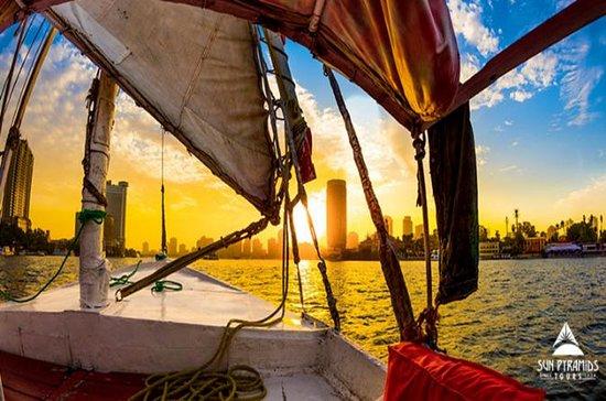 Felucca Ride på Nilen i Kairo