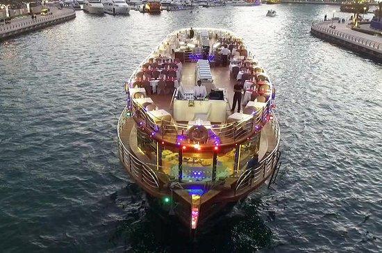 Jantar no Dubai Marina