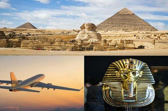 Le Caire en avion