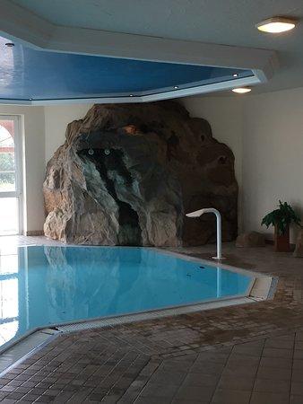 Neustadt am Rennsteig, Tyskland: kleines Schwimmbad und Dampfsauna gibt es im Hotel