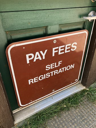 McWay Falls: Self registration