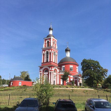 The Church of Peter and Paul in Petrovskiy