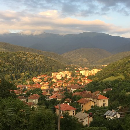 Berkovitsa, Bulgaria: View from the patio
