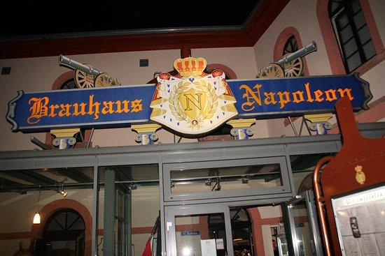 Brauhaus Napoleon: На выходе.