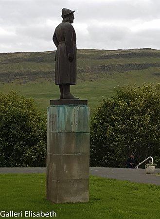 Snorrastofa: Staty över Snorre S