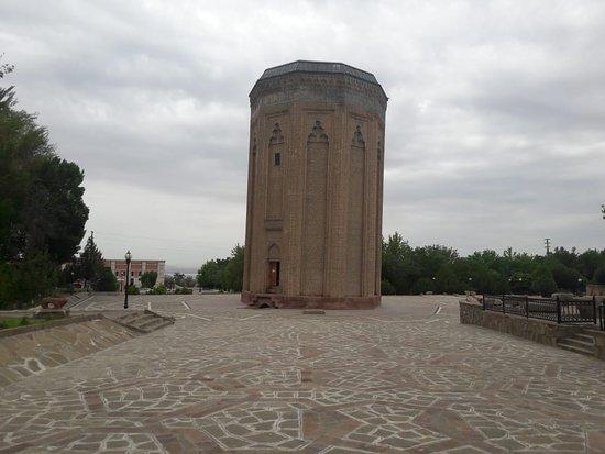 Нахичевань, Азербайджан:  XII century monument.