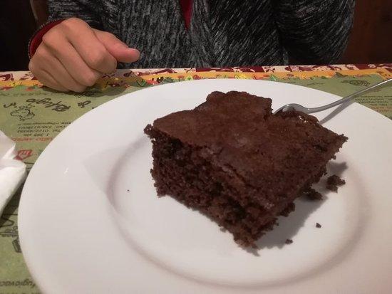 Rifugio Scarfiotti: Torta cioccolata e pere