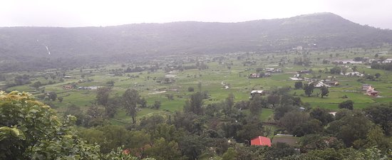 View from Bhaja Caves stairs