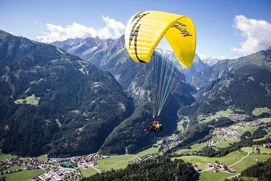 Flugtaxi Mayrhofen