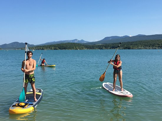 Leran, Frankrike: Paddle sur le Lac Montbel