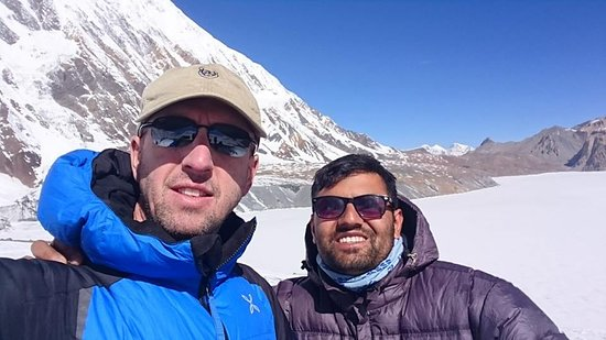 Tilichol Lake: Patrick from France. The best Eperiance with him.