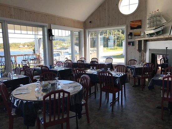 Riviere-Madeleine, Canada: Restaurant La capitainerie Riviere Madeleine ,a la marina