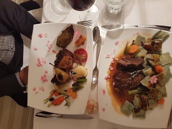 Gorbio, Frankrike: Daude Niçoise et ses raviolis et Magret