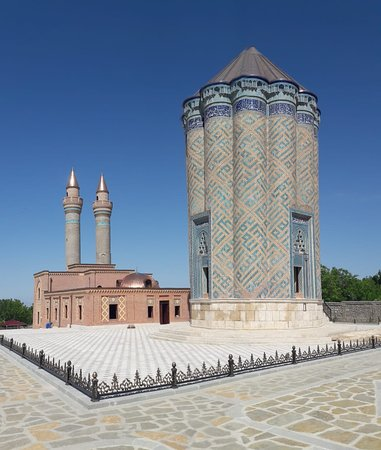 Nakhchivan, أذربيجان: Karabaglar monument (XIV century) - Nakhchivan/ Azerbaijan 
