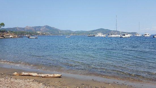 Capoliveri, Italien: Spiaggia di Istia