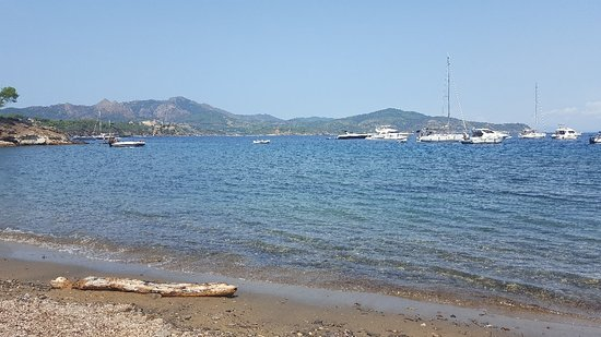 Capoliveri, Italie : Spiaggia di Istia