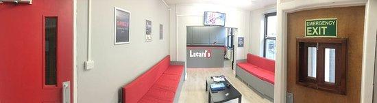 Lucardo: wide angled view - reception