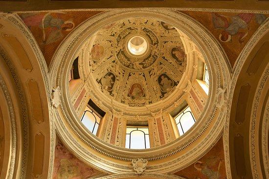 San Terenzo, Италия: Il soffitto della cappella