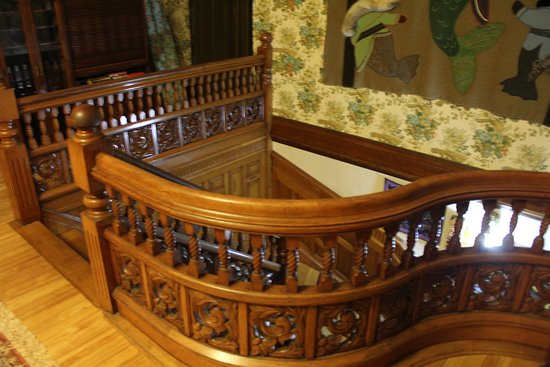 The Regent Bed & Breakfast: The wonderful Staircase