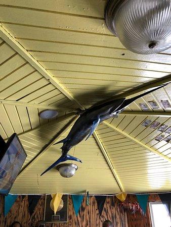 Goldie's Conch House Nassau Bahamas: inside