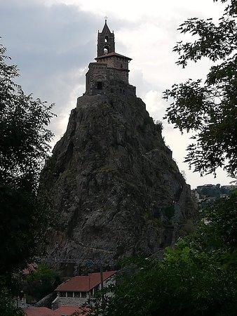 Chapelle Saint-Michel d'Aiguilhe : antico vulcano