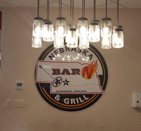 Gothenburg, NE: Nebraska Barn & Grill Sign