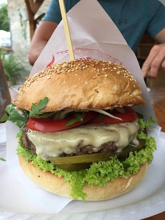 Świetny burger godny polecenia