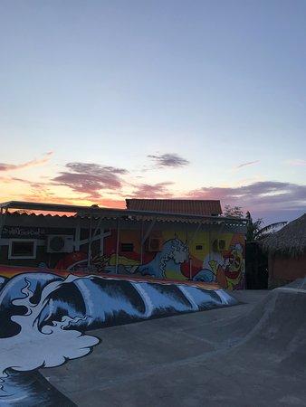 Puerto Sandino, Nicaragua: skate ramp