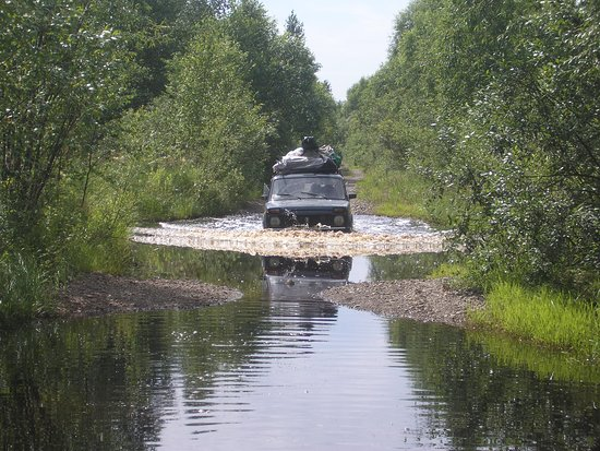 Myski, Russland: дорога Тутуяс Аксас
