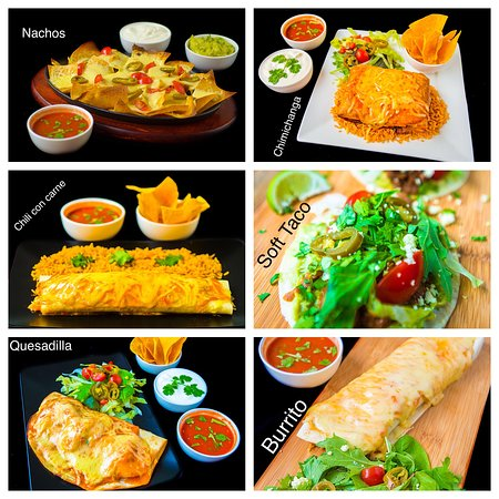 Taco Diner Dishes