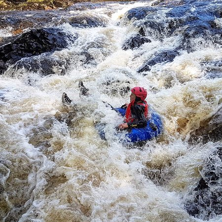Harlech, UK: Whitewater Tubing with Adrenalin Addicts Wales