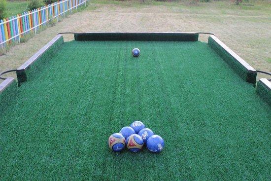 Zerenda, Kazakhstan: Снукбол для детей