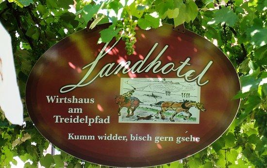 Hassmersheim, Germany: Schild