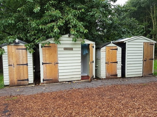 Great Tey, UK: Toilets and showers