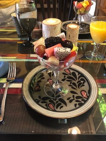 The Inn at Birch Wilds: every kind of fruit in this cup!