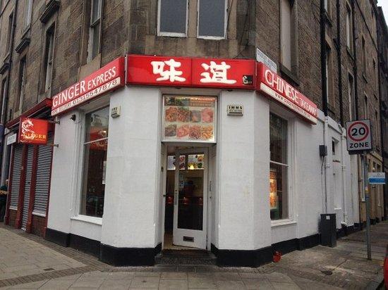Ginger Express Edinburgh Menu Prices Restaurant