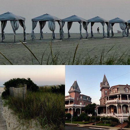 Angel of the Sea : Hotel and beach views
