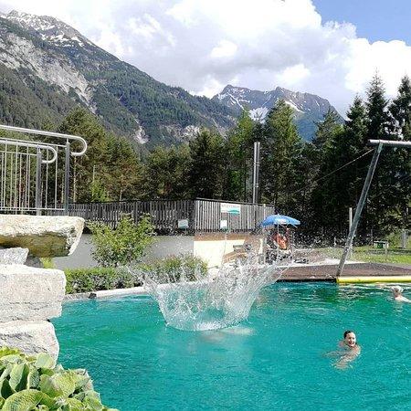 Naturpool Ohne Chemie Mit Bergquellwasser Picture Of Lechtal