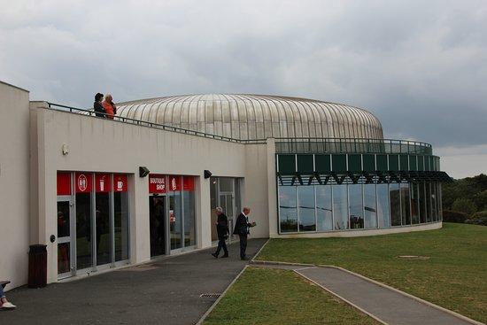 Arromanches 360: Museum von außen