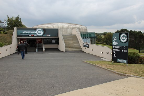 Arromanches 360: Eingang Museum