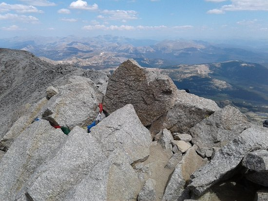 Leadville, CO: Summit of Mt. Massive provides spectacular 360 degree view!