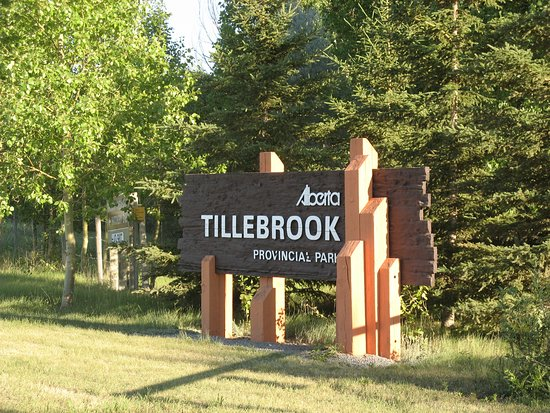 Brooks, Kanada: Tillebrook sign.