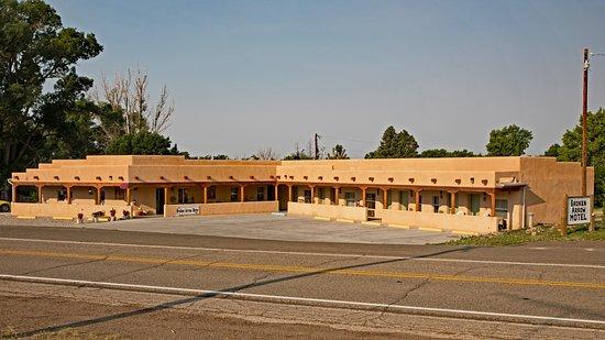 Springer, NM: Building Wide Shot