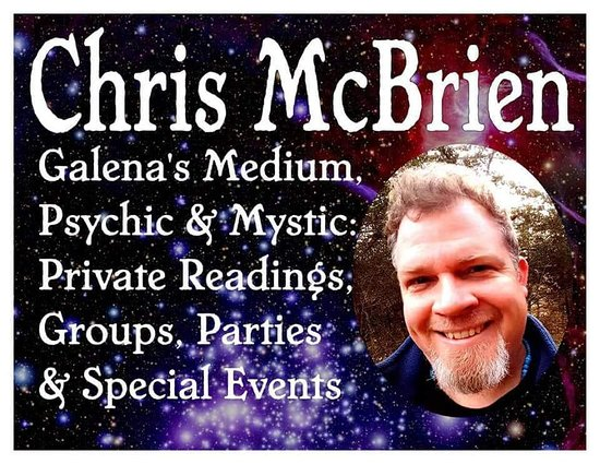 ‪Psychic Medium Chris McBrien‬
