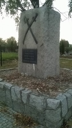 Pomnik upamietniajacy bitwe pod Kaliszem w 1706r.