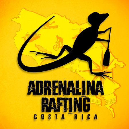 Turrialba, Costa Rica : logotipo adrenalina