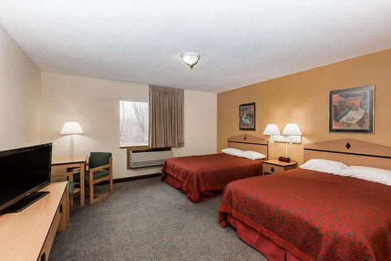 Atlantic, Айова: Guest room