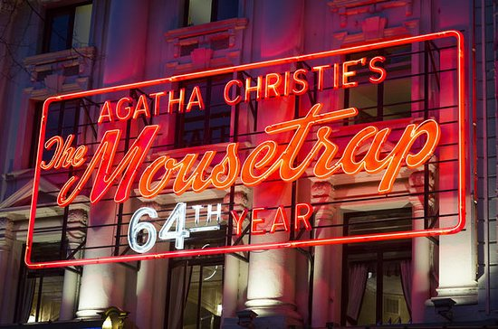 Mousetrap Theatre Show i London