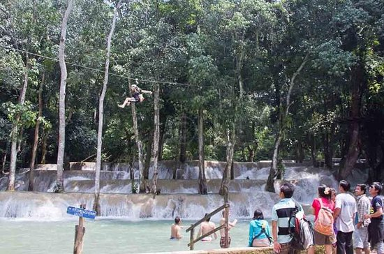 Tad Sae Kayaking and Zip-line Adventure