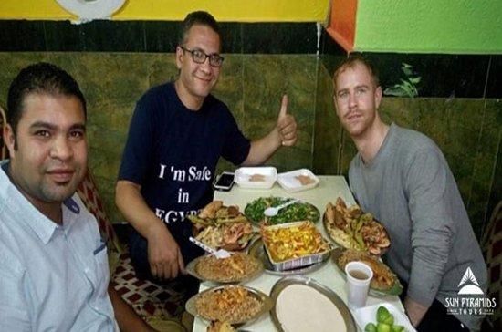 Tagestour zum Ägyptischen Hausessen oder Mittagessen in Ägypten